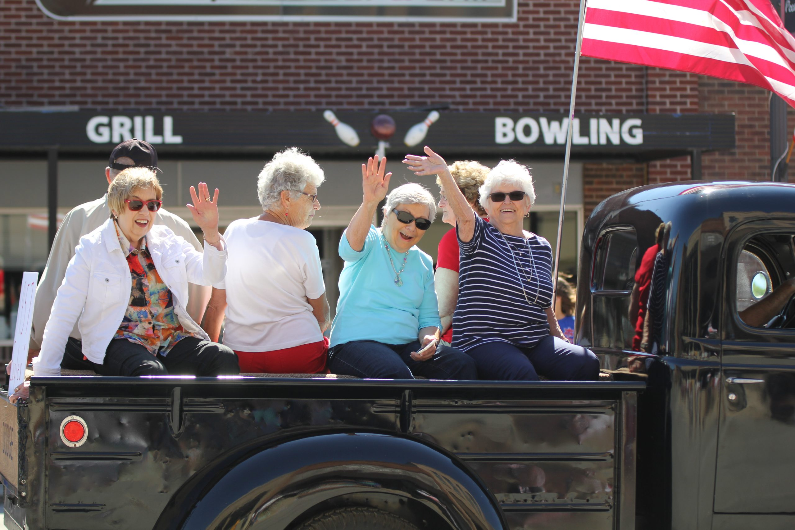 Ladies in parade at Pocahontas Heritage Days 2017
