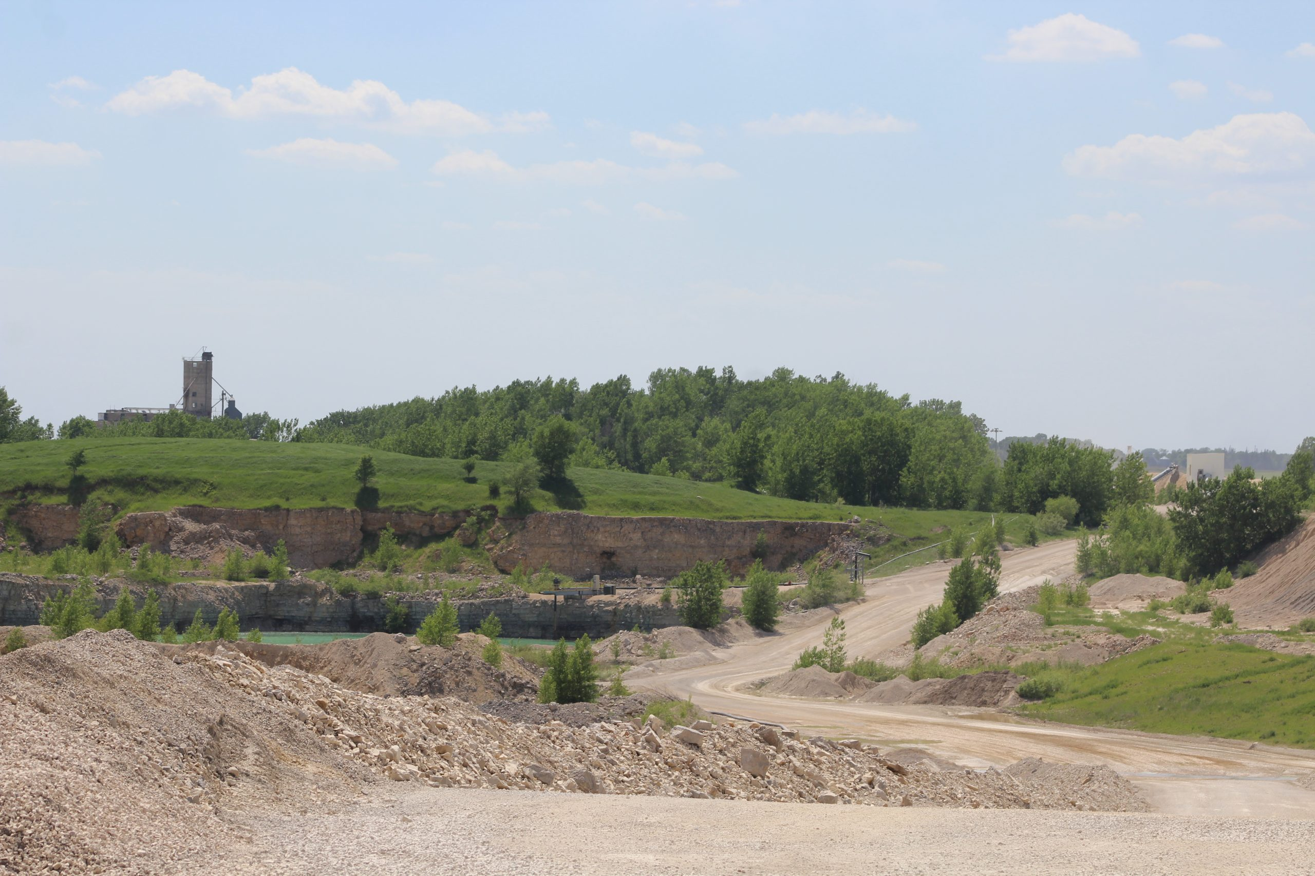 Quarry outside of Gilmore City