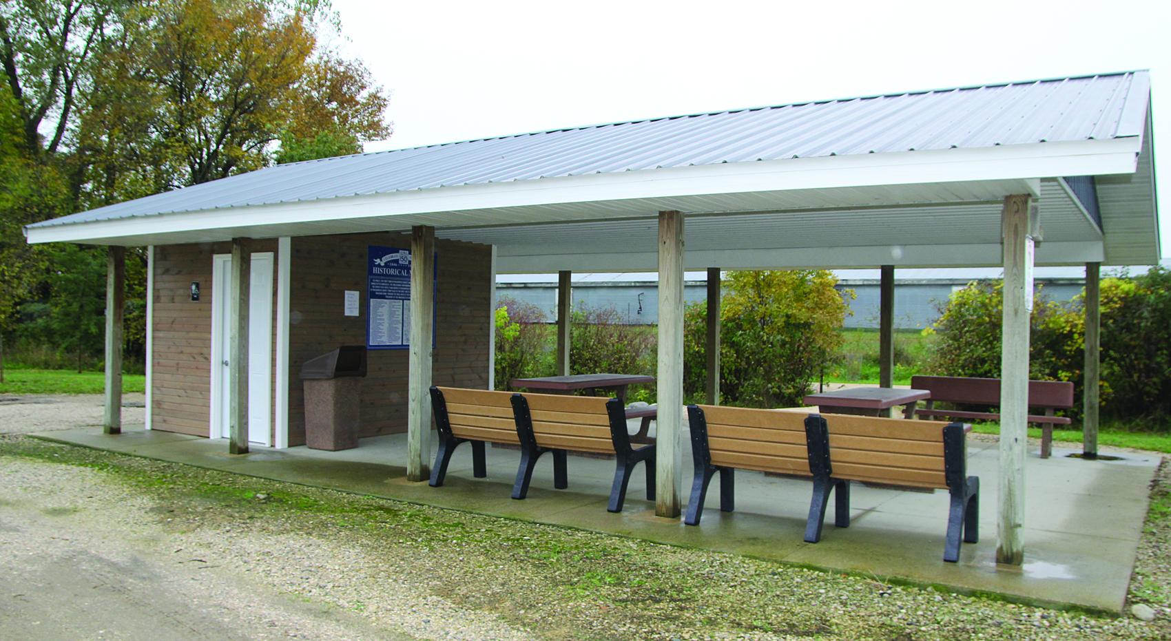 2018 Trailhead Restroom Shelter Side 10 8 18