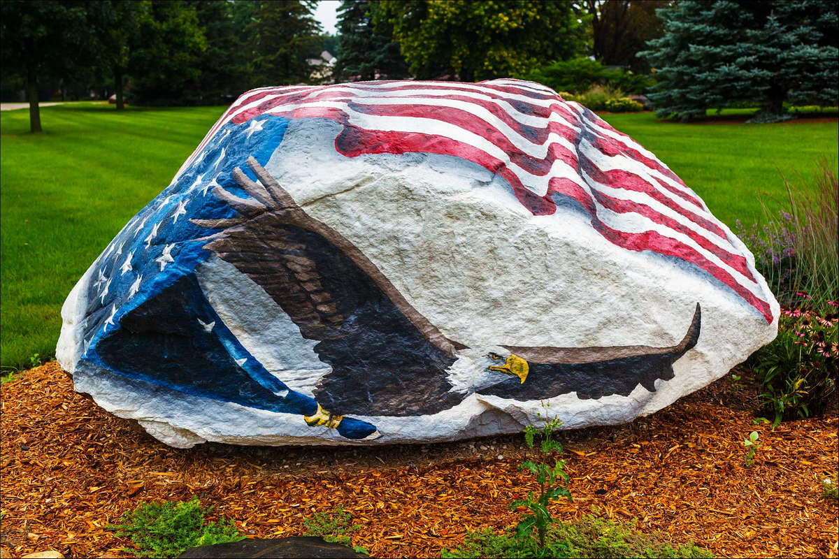 Pocahontas County Freedom Rock in Rolfe