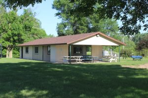 Shelter house at North Park in Fonda