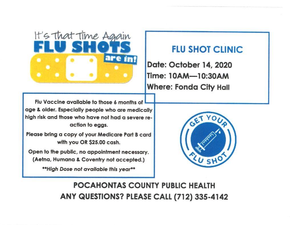 Flu Shot Clinic 2020