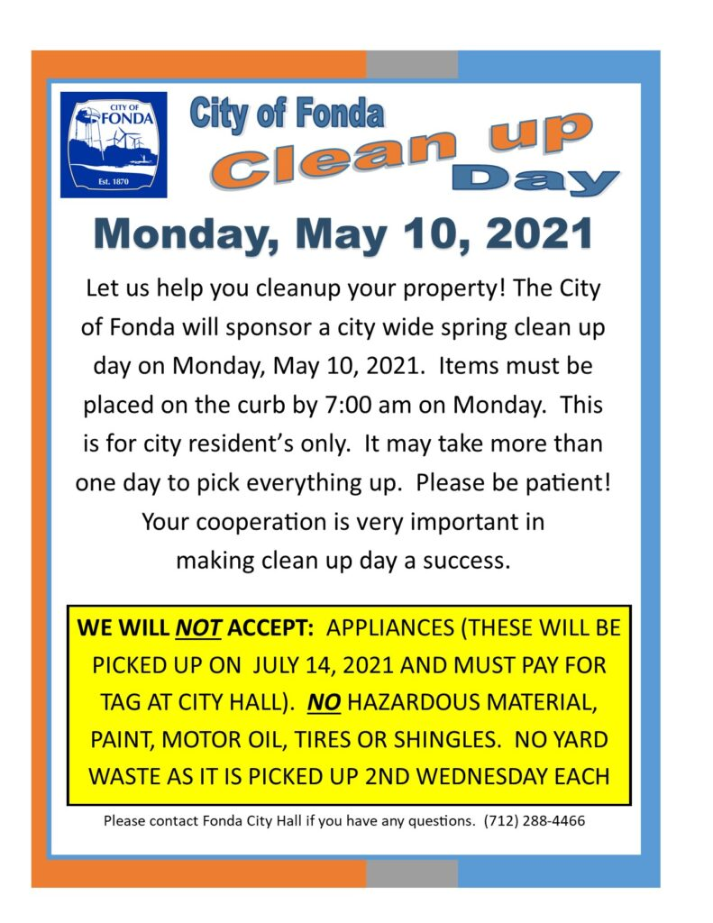 SPRING Clean up Day 2021