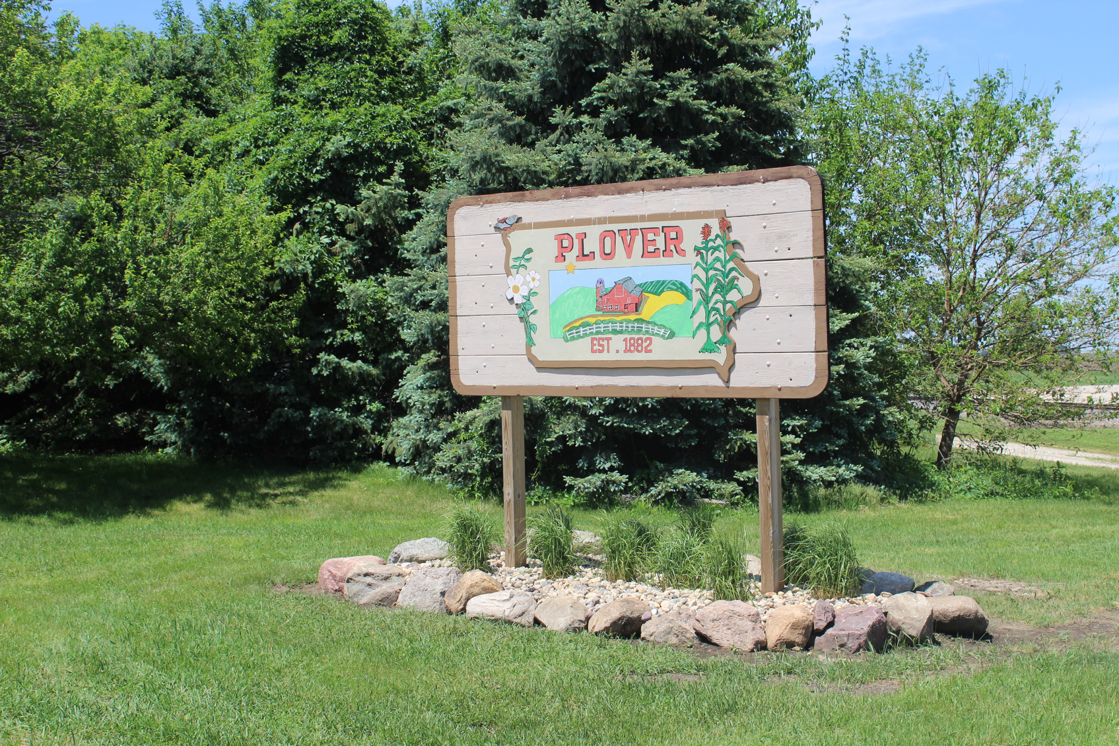 Image of City entryway sign