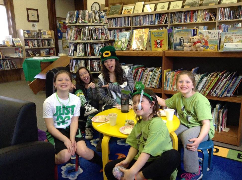 Saint Patricks Day Activities at Plover Public Library